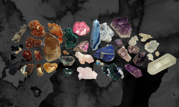 Crystals, Minerals, Rocks and Fossils