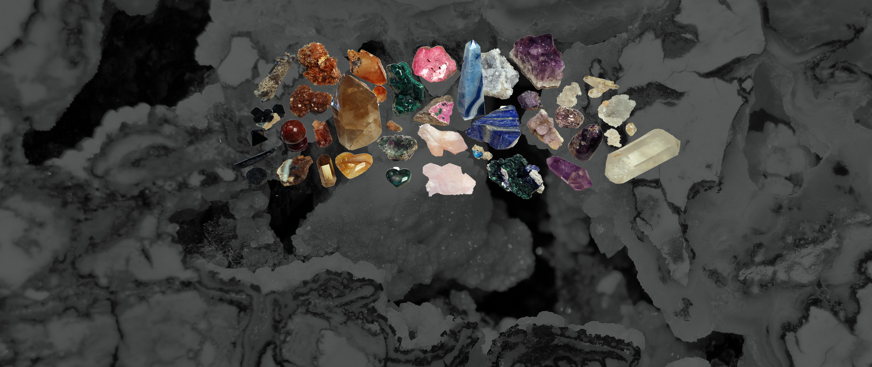 and Gems Crystals Rocks